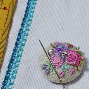 刺繍に便利なニードルマインダー