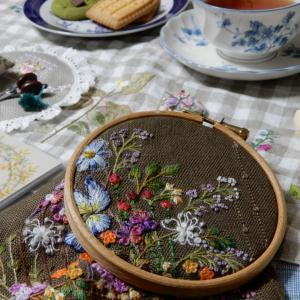 刺繍の時間