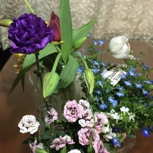 2020年母の日も 花に囲まれて