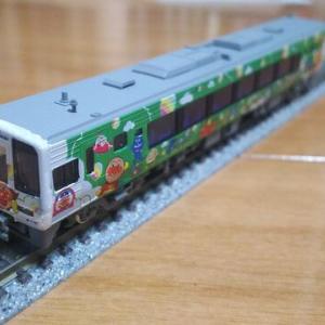 【特急南風】緑色ラッピング車を作る!【JR四国2000系】その2