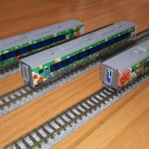 【特急南風】緑色ラッピング車を作る!【JR四国2000系】その3・完