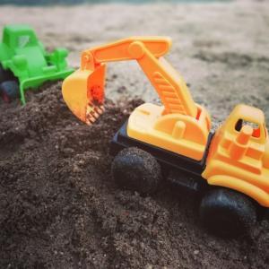 ついに土地の造成工事始まりました!