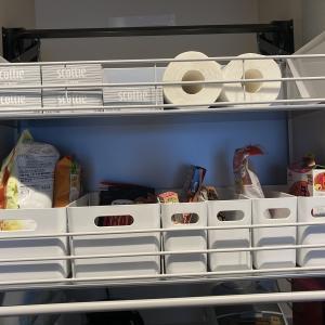 使いやすいキッチン計画☆ダウンウォール吊り戸棚