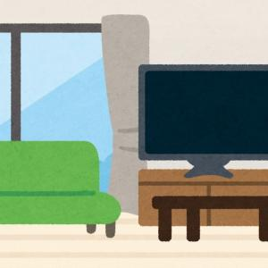 もしも我が家のテレビ背面壁にエコカラットが付いたら・・・