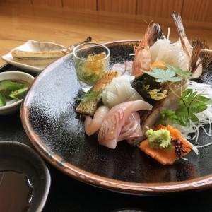 美味しいお魚料理をいただきました
