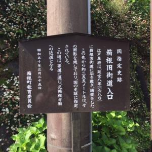 旧箱根街道を歩いてきました。