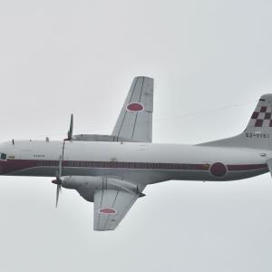 入間航空祭当日のYS-11
