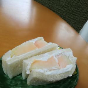 メロンサンドイッチ