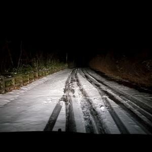 予期せぬ雪と回り道-ラストキャンプ