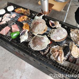 今年最初のバーベキュー~2021年春の貝祭り