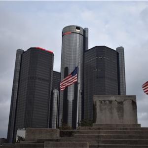 アメリカ旅行記 Downtown of Detroit