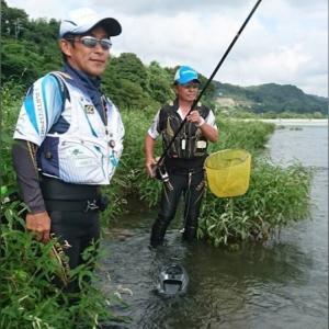鮎釣り技術講習会