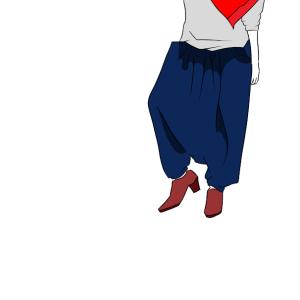 【独身女性の呟き】理解できないファッション~ぶかぶかサルエルパンツ編~