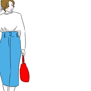 【独身女性の呟き】タイトスカートの中心線、歩くたびにズレがち説