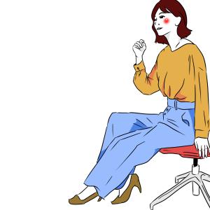 【独身女性の呟き】職場の噂話はパンデミック級