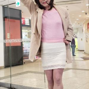 スカートを替えて