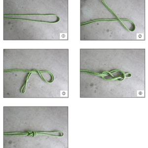 ロープの結び方 8の字結び・中間者結び・ラビットノット