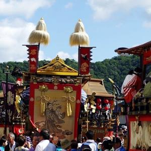 放 生 祭「 山 車 」