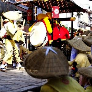 放 生 祭「 大 太 鼓 」