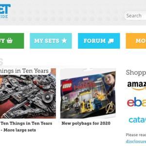 レゴの情報サイトBRICKSETの使い方 ① セットやパーツを検索 新作写真も!?