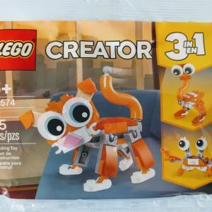レゴ:LEGO 30574|猫!蟹!ダチョウ!
