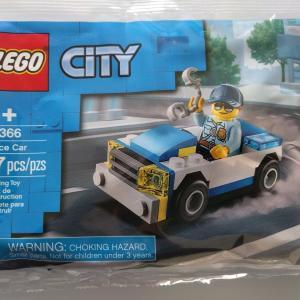 レゴ:LEGO 30366|手錠を持った、ポニーテールの警察官。