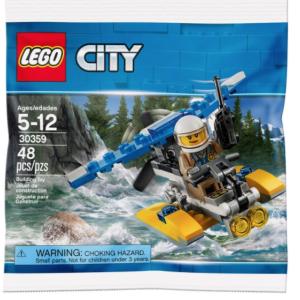 水上飛行機に乗ってパトロール。LEGO 30359レビュー