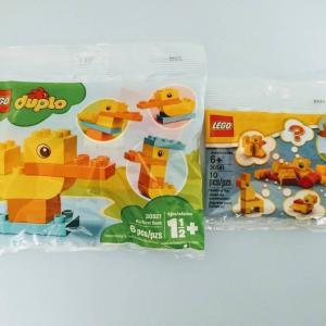 duploのアヒルが思っていたよりもかわいい。レゴ(LEGO)30327、30541 レビュー。