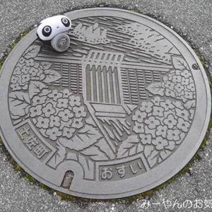 香川ヤドンマンホールの旅(2) 土佐町マンホールカードGETだぜ!