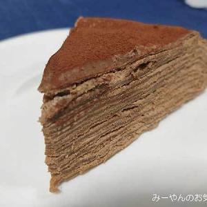 チョコミルクレープでハッピーバレンタイン♡