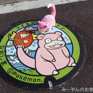 香川ヤドンマンホールの旅(51) 直島ヤドンマンホールGETだぜ!