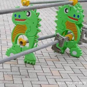 単管バリケードが好き(。・ω・。)ノ♡  恐竜ガード