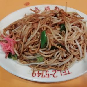 地鶏のたたきが有名な泰勝軒に日田焼きそばを食べに行きました。