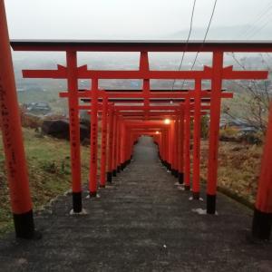 91基の鳥居が並ぶ絶景スポット、浮羽稲荷神社