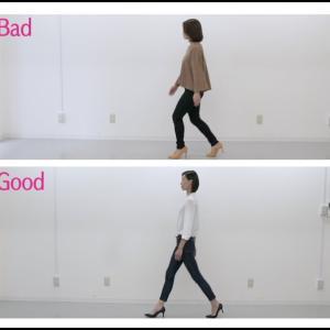 ヒールウォーキング②【膝曲がりを改善する歩き方】