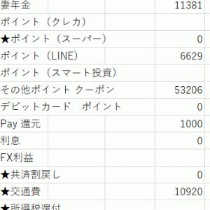 【プレゼント企画】参加ぁ 年金家庭の10月家計簿