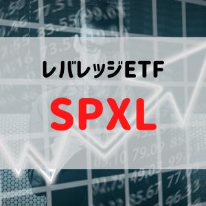 【レバレッジETF】SPXLについて調べてみた!