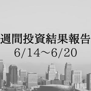 週間投資結果報告(6/14~6/20)