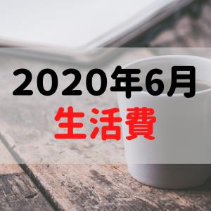 【一人暮らし】2020年6月の生活費