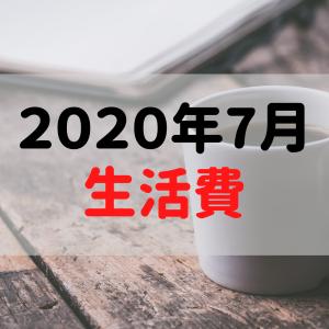 【一人暮らし】2020年7月の生活費