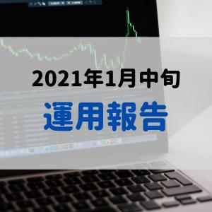 2021年1月中旬の運用報告