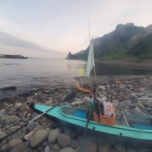 2021.7.4珊内沖カヤック釣行