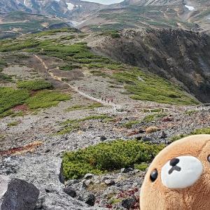 大雪山黒岳にイヤイヤ登山
