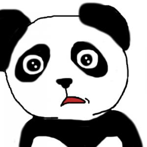 R2.8.5(水)-パンダのペンネ「大きな池の主」-