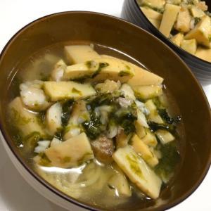 有名ホテルのレシピ!筍とタラの旨味ラーメン/やる気★★★★