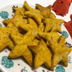 かぼちゃクッキー|ホットケーキミックスで簡単レシピ/やる気★