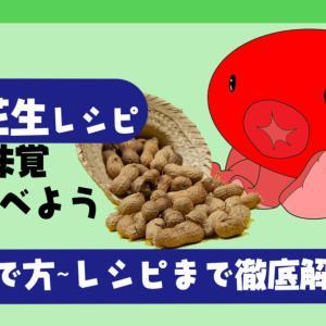秋の味覚|生落花生の茹で方~人気のレシピまで徹底解説|圧力鍋を使わない食べ方