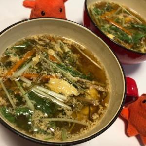 【松前漬けのスープ】おせちの松前漬けリメイクレシピ/やる気★★★