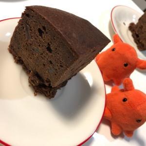 【ラムレーズン香るチョコレートケーキ】大人のデザートレシピ/やる気★★★★