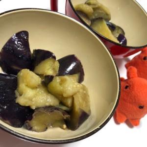 【冷凍揚げナスのさっぱり煮】お湯をかけて簡単!低脂質おかずレシピ/やる気★